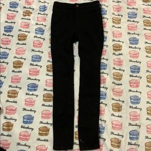 black hollister jeans